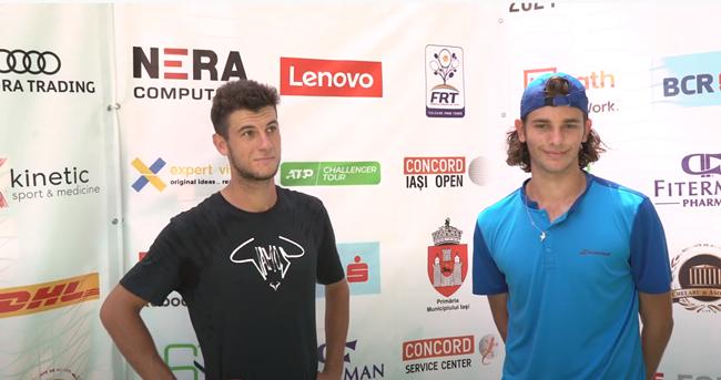 Alexandru Coman and Vlad Andrei Dancu decided to form a doubles team