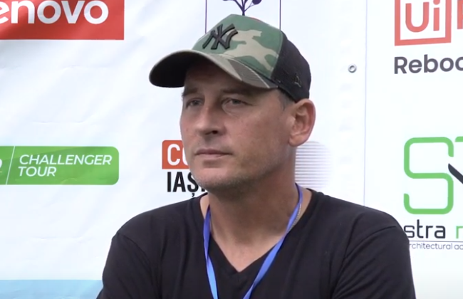"""Andrei Pavel, Director of ATP Challenger Concord Iași Open 2021: """"This tournament is impressive"""""""