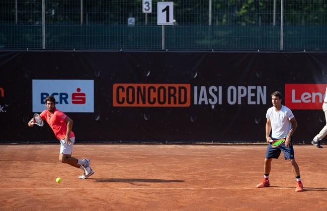 Brazilienii Orlando Luz și Felipe Meligeni sunt noii campioni de dublu ai Concord Iași Open.