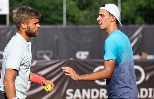 Cezar Creţu and Dan Tomescu qualified for the semifinals of Concord Iași Open 2021