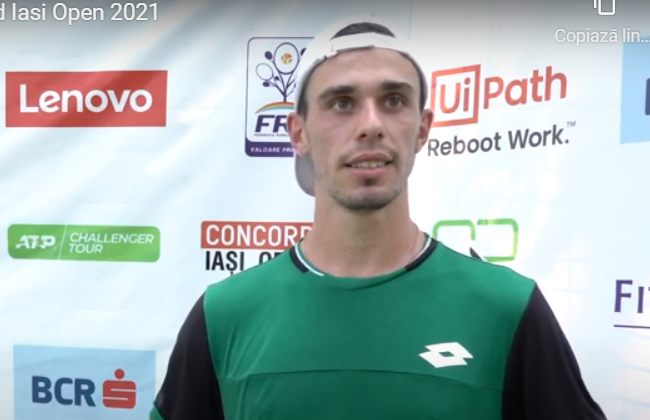 Cezar Cretu - Duje Ajdukovic 3-6, 2-6, in the first round at Concord Iasi Open 2021
