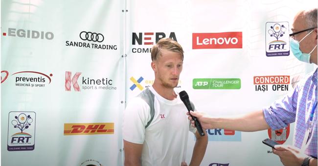 Cehul Zdenek Kolar, interviu după calificarea în semifinalele Concord Iași Open