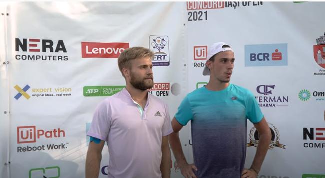 Dan Alexandru Tomescu and Cezar Cretu, final of the tournament at Concord Iasi Open 2021