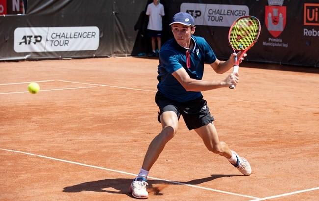 David-Nicholas Ionel - Dimitar Kuzmanov 6-2, 3-6, 4-6 în turul secund  la Concord Iași Open 2021