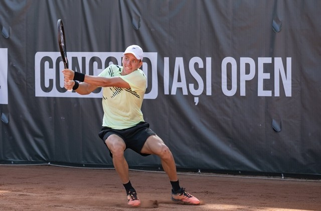 "Filip Cristian Jianu, spectacular victory in the first round at the ""Concord Iași Open"" 2020. Schedule for Wednesday, September 16"