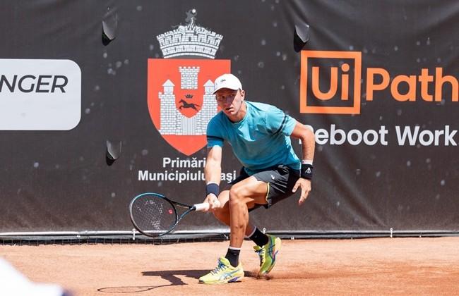 Filip Jianu se oprește în turul secund la Concord Iași Open 2021. Italianul Riccardo Bonadio s-a impus cu 7-6(5), 6-2