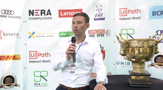 Interviu Andrei Oriță, Directorul General al companiei Concord Service Center, și proprietarul turneului ATP Challenger 100