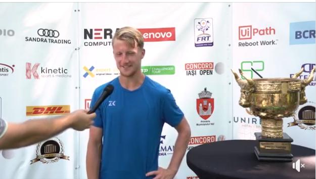 Interviu cu campionul Concord Iași Open 2021, Zdenek Kolar