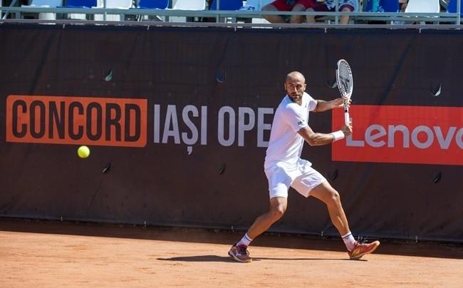 Marius Copil - Duje Ajdukovic, 4-6, 4-6, in the second round at Concord Iași Open 2021