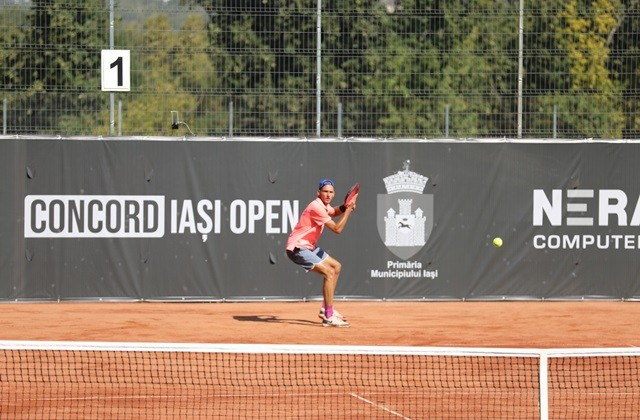 """Matteo Martineau, Tomas Etcheverry, Kacper Zuk and Felipe Meligeni Alves qualified for the main draw at the """"Concord Iași Open"""" 2020. Nicholas David Ionel plays in the first round with the Polish Zuk"""