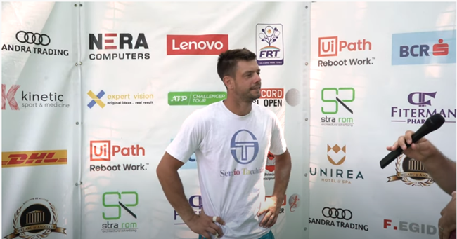 Serbian Miljan Zekic, interview after a very good result: from the qualifications he reached the semifinals of Concord Iași Open 2021