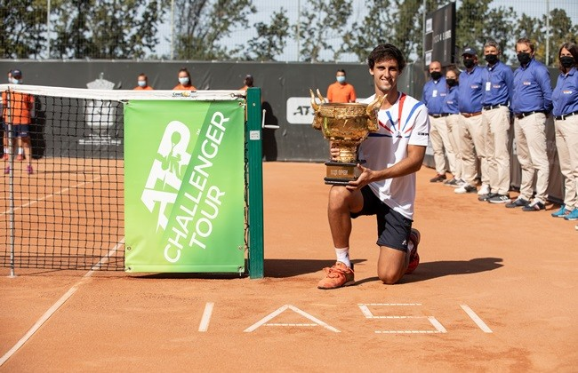 "Spaniard Carlos Taberner, the first champion in the history of ""Concord Iasi Open"""