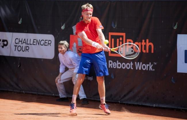 Cehul Zdenek Kolar s-a calificat în finala de simplu la Concord Iași Open 2021