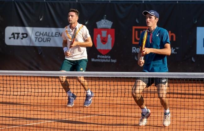 "Victory for Dan Tomescu and Cezar Cretu in the ""100 Romanian"" doubles match with Nicholas-David Ionel and Ștefan Paloși."
